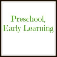 preschool early learning