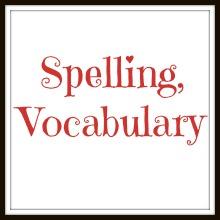 spelling vocab
