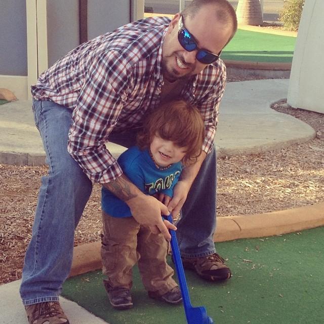 lukas golfing